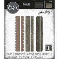 Sizzix - Tim Holtz - Thinlits Dies - Decorative Trims