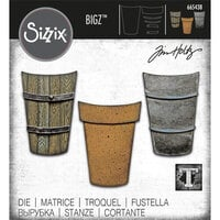 Sizzix - Tim Holtz - Bigz Die - Potted - Set Two