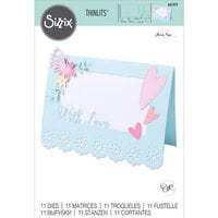 Sizzix - Thinlits Die - Lace Card Base