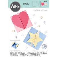 Sizzix - Thinlits Die - Heart and Star Box