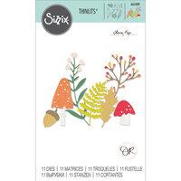 Sizzix - Thinlits Die - Winter Nature