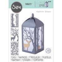 Sizzix - Thinlits Die - Woodland Lantern