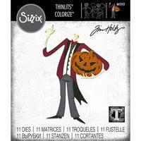 Sizzix - Tim Holtz - Thinlits Dies - Pumpkinhead Colorize