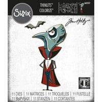 Sizzix - Tim Holtz - Thinlits Dies - The Count Colorize