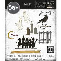 Sizzix - Tim Holtz - Thinlits Dies - Vault Series - Halloween 2021