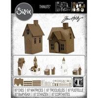 Sizzix - Tim Holtz - Thinlits Die - Village Collection