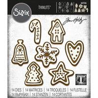 Sizzix - Tim Holtz - Thinlits Dies - Christmas Cookies