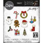 Sizzix - Tim Holtz - Thinlits Dies - Christmas Minis