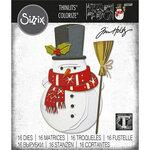 Sizzix - Christmas - Tim Holtz - Thinlits Dies - Winston Colorize