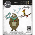 Sizzix - Christmas - Tim Holtz - Thinlits Dies - Cozy Winter