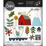 Sizzix - Christmas - Tim Holtz - Thinlits Dies - Funky Nordic