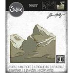 Sizzix - Christmas - Tim Holtz - Thinlits Dies - Mountain Top
