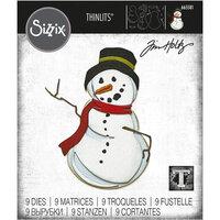 Sizzix - Christmas - Tim Holtz - Thinlits Dies - Mr. Frost