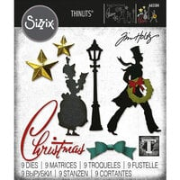 Sizzix - Tim Holtz - Thinlits Dies - Vault Series - Christmas 2021