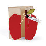 Sizzix - Bigz XL Die - Card, Apple Gatefold