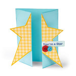 Sizzix - Bigz XL Die - Card, Star Gatefold