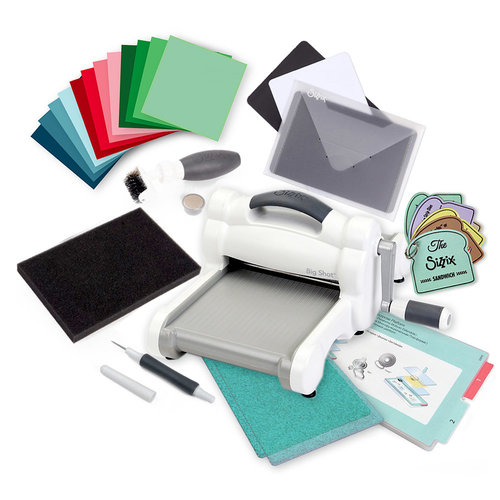 Sizzix - Big Shot Machine - Accessories Bonus Bundle and Exclusive Sparkle Cutting Pads