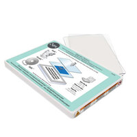 Sizzix - Accessory - Magnetic Platform and Standard Cutting Pads for Wafer-Thin Dies - Clear Bundle