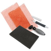 Sizzix - Accessory - Standard Cutting Pads, Die Brush, Foam Pad and Die Pick for Wafer-Thin Dies - Ballet Slipper Pink with Glitter Bundle