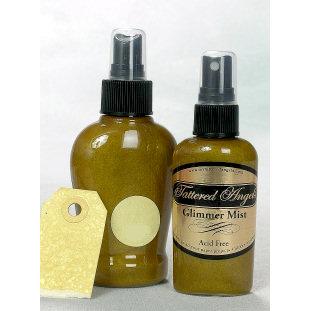 Tattered Angels - Glimmer Mist Spray - 2 Ounce Bottle - Lemon Zest, CLEARANCE