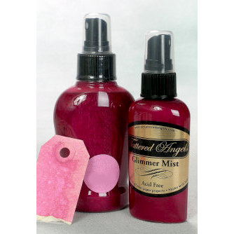 Tattered Angels - Glimmer Mist Spray - 2 Ounce Bottle - Pink Bubblegum