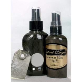 Tattered Angels - Glimmer Mist Spray - 2 Ounce Bottle - Graphite