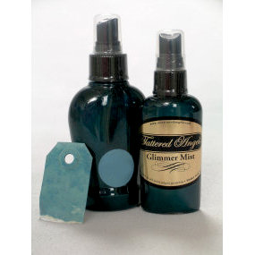 Tattered Angels - Glimmer Mist Spray - 2 Ounce Bottle - Midnight Blue, CLEARANCE