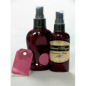 Tattered Angels - Glimmer Mist Spray - 2 Ounce Bottle - Black Cherry, CLEARANCE