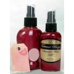 Tattered Angels - Glimmer Mist Spray - 2 Ounce Bottle - Vintage Pink