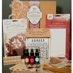 Tattered Angels - Regal Collection - Chip Tiles Glimmer Kit, CLEARANCE