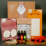 Tattered Angels - Halloween Collection - Chip Tiles Glimmer Kit, CLEARANCE