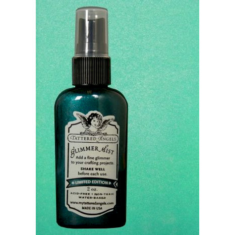 Tattered Angels - Glimmer Mist Spray - Limited Edition - 2 Ounce Bottle - Frozen Lake