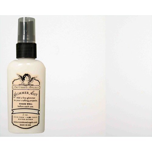 Tattered Angels - Glimmer Mist Spray - Limited Edition - 2 Ounce Bottle - Marshmallow