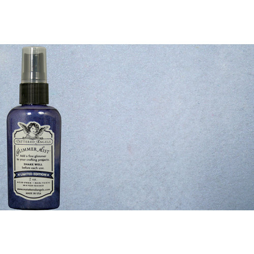 Tattered Angels - Glimmer Mist Spray - Limited Edition - 2 Ounce Bottle - Delphinium, CLEARANCE