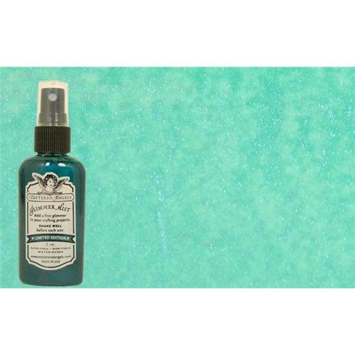 Tattered Angels - Glimmer Mist Spray - 2 Ounce Bottle - Bahama Blue