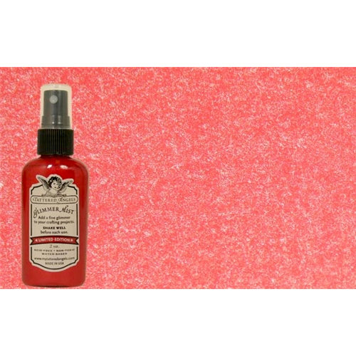 Tattered Angels - Glimmer Mist Spray - 2 Ounce Bottle - Rum Punch