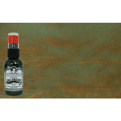 Tattered Angles - Chalkboard Collection - Glimmer Mist Spray - 2 Ounce Bottle - Fern