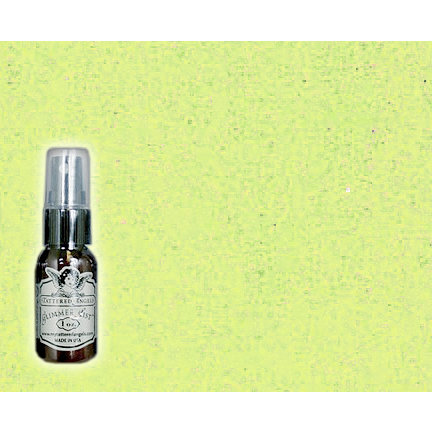 Tattered Angels - Glimmer Mist Spray - 1 Ounce Bottle - Key Lime Pie