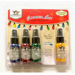 Tattered Angels - Christmas - Glimmer Mist Spray - 1 Ounce Bottles - Christmas Lights Set