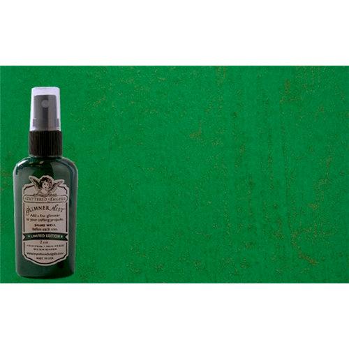 Tattered Angels - Christmas - Glimmer Mist Spray - 2 Ounce Bottle - Bubble Light Green