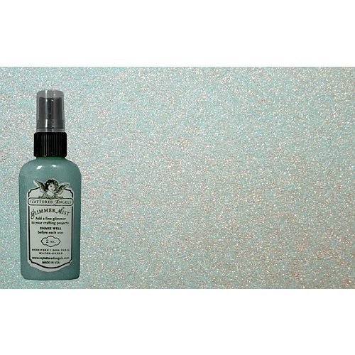 Tattered Angels - Glimmer Mist Spray - 2 Ounce Bottle - Verdigris