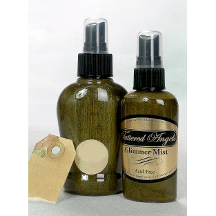 Tattered Angels - Glimmer Mist Spray - 2 Ounce Bottle - Wheatfields