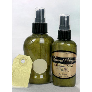 Tattered Angels - Glimmer Mist Spray - 2 Ounce Bottle - Mustard Seed , CLEARANCE