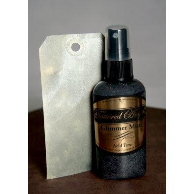 Tattered Angels - Glimmer Mist Spray - 2 Ounce Bottle - Silver