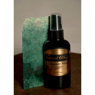 Tattered Angels - Glimmer Mist Spray - Fall 2007 Special - 2 Ounce Bottle - Juniper
