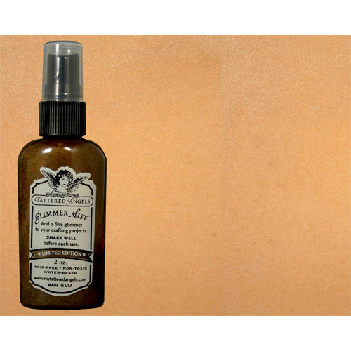 Tattered Angels - Glimmer Mist Spray - Limited Edition - 2 Ounce Bottle - Caramel Apple