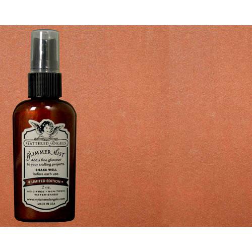 Tattered Angels - Glimmer Mist Spray - Limited Edition - 2 Ounce Bottle - Pinecone