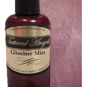 Tattered Angels - Glimmer Mist Spray - 2 Ounce Bottle - Dewberry, CLEARANCE