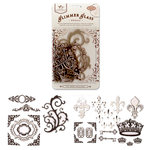 Tattered Angels - Creme de Cocoa Glimmer Glass - Regal, CLEARANCE