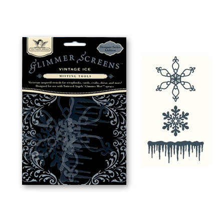 Tattered Angels - Glimmer Screen - Misting Tools - Vintage Ice